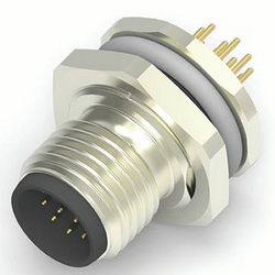 M12 PCB/Panel Connectors 8/12 Pin - TE Connectivity (TE)丨5Star Technology